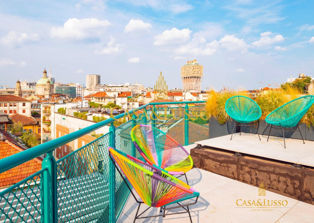 For Rent Penthouse Milan - Panoramic penthouse with terrace  Locality
