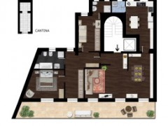 pretty penthouse with terrace on the floor - 1